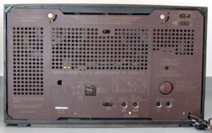Radio Saba Meersburg Automatic 11 Stereo - rear wall/rueckwand/pannello posteriore