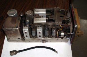 Chassis Autovox RA15/L ante restauro