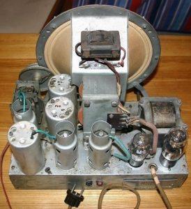 Radiomarelli Faltusa - chassis