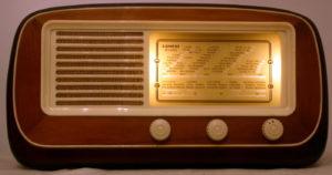Radio Siemens SM 5024 - fronte e scala parlante