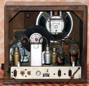 Radio Sachsenwerk Olympia-Super Sechs - chassis