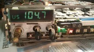 blaupunkt bremen sqr46 LCD Display replaced
